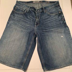 Bke derek style mens Jean shorts